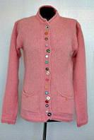 Теплая женская кофта с карманами  от производителя