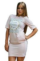 Платье женское с рисунком опт
