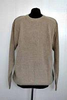 Стильный мужской свитер из шерсти с круглым вырезом