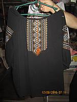 Женская вышиванка большого размера