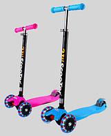 Трехколесный самокат 21st scooter Maxi Micro для детей