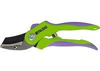 Секатор 200 мм, пружина возвратная спиралного типа, тефлоновое покрытие, пластиковые ручки Palisad 6
