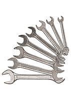 Набор ключей рожковых, 6 х 22 мм, 8 шт., хромированные Sparta 152755
