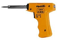 Паяльник-пистолет с регулировкой мощности 25-80 Вт, 220 В Sparta 913065