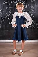 Модное школьное платье для девочки 111 Опт от 3 штук