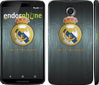 """Чехол на Motorola Nexus 6 Real Madrid 3 """"995c-67"""""""