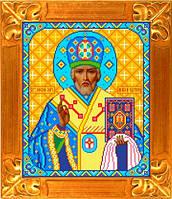Схема для вышивки икона Св. Николай Чудотворец