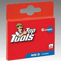 Скобы для степлера 6,0 мм, TopTools (Topex)