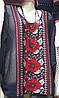 Модная женская кофта с маками
