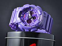 Часы мужские Копия Casio G-Shock GA-120 Violet Фиолетовые