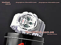 Часы мужские Копия Casio G-Shock GA-120 White Белые