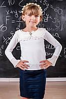 Трикотажная блузка для девочки 208 Осень 2015