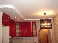 Сатиновые потолки на кухне