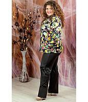 Женские брюки Алина черный, фото 1