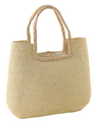 Модная летняя сумка-корзина Podium 6911 white, белый