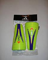 Щитки футбольные желтые детские Adidas FSO
