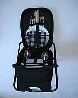 Набор для пикника (стул, рюкзак, посуда)