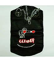 Мешок боксерский кожаный ТМ Wolf (90х35)