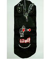Мешок боксерский кожаный ТМ Wolf (12х35)