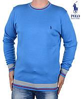 Свитер мужской Ralph Lauren-41 синий