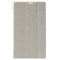 Чехол Подставка Silk Texture Tri-fold для Asus ZenPad C 7.0 Z170 белый