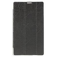 Чехол Подставка Silk Texture Tri-fold для Asus ZenPad C 7.0 Z170 серый