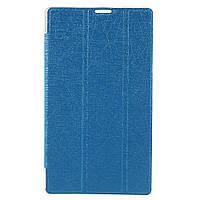Чехол Подставка Silk Texture Tri-fold для Asus ZenPad C 7.0 Z170 синий