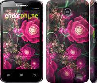 """Чехол на Lenovo A820 Абстрактные цветы 3 """"850c-68"""""""