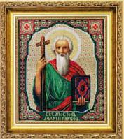 Набор для вышивания крестомИкона Преподобного Серафима Саровского Чудотворца