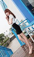 Модная мини юбка для девушки в наличии темно синий цвет