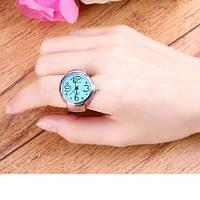 Необычные красивые перстень часы, кольцо для девушки