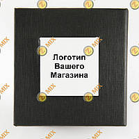 Коробочка с белым квадратом с логотипом  Вашего интернет магазина