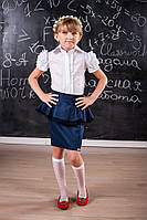 Блузка для девочки с коротким рукавом 214 от производителя