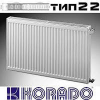 Стальной радиатор Korado тип 22 300*800 боковое подключение