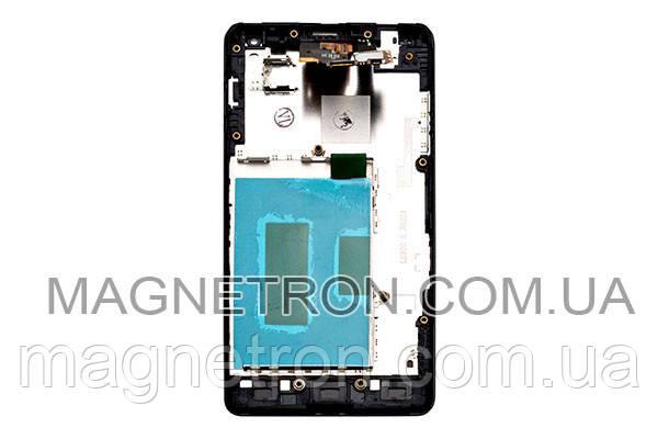 Дисплей с тачскрином и передним корпусом для телефона LG E973/E975/E971 ACQ86366901, фото 2