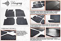 Резиновые коврики в салон на Kia Cerato 12- (КИА Серато 12-)