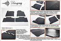 Резиновые коврики в салон на SsangYong Korando 10- (Cанг Йонг Корандо 10-)