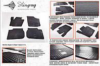 Резиновые коврики в салон на Skoda Rapid 13- (Шкода Рапид 13-)