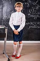 Школьная прямая юбка для девочки 507 Оптом и в розницу