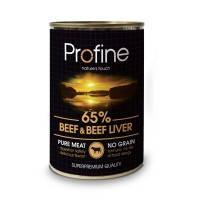 Profine Beef and Liver консервы для собак с говядиной и печенью, 400г