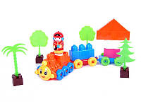 Детский конструктор Поезд 02-408 Kinderway
