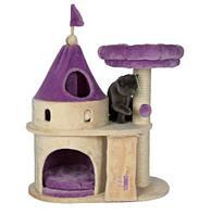 Домик для кошек «My kitty darling» с когтеточкой и дряпкой Trixie ТX-44851