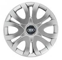 "Колпаки для колес 15"" c логотипом автомобиля 4 шт (SKS 330) Audi"