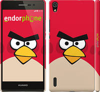 "Чехол на Huawei Ascend P7 Angry birds. Red. ""542c-49"""