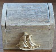 Сундук деревянный, морской