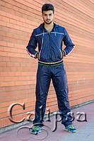 Спортивный костюм с полосатыми резинками