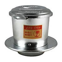 Мини кофеварка для приготовления кофе по-вьетнамски Cay Dua 85мм