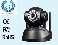 Камера с встренной сигнализацией + подключение беспроводных датчиков движения IP Alarm.