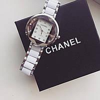 Наручные часы женские Chanel Hloe белые , магазин наручных часов