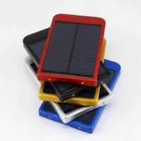Переносная доп. батарея с солнечной панелью Li-Po. 5000mAh. 5V. 2xUSB. 2.1A